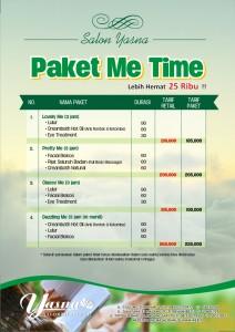 Paket Me Time
